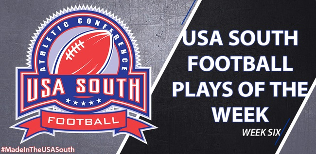 Football: Brandon Ray's big hit featured in USA South Plays of the Week