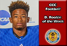 Zhaire House-Western New England, CCC Football: Defensive Rookie of the Week