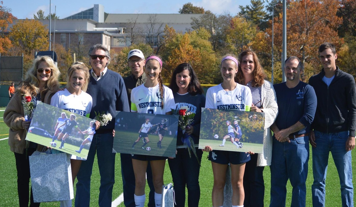 Koonce, Cradick Shatter Records on Westminster Women's Soccer Senior Day