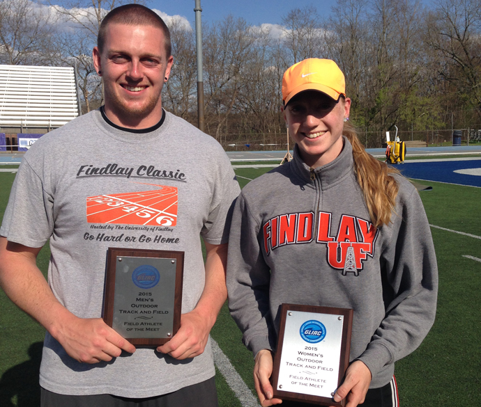 Showman and Welch Highlight Final Day of GLIAC Championship