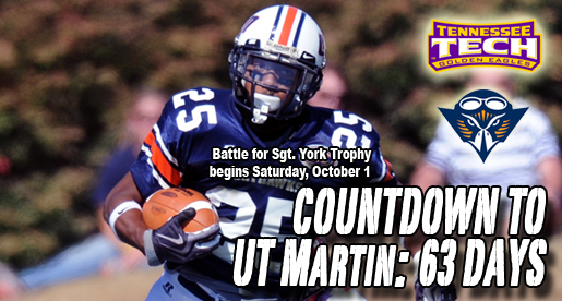 Golden Eagle Football Countdown: York Trophy race starts at UT Martin