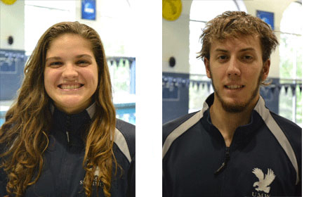 UMW's Singer, Slattery Named CAC Swimmers of the Week