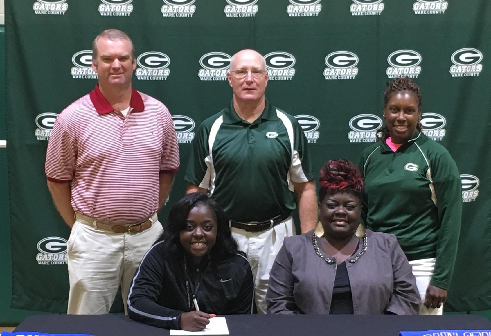 Khadija Williams Signs Track Scholarship with Albany State University