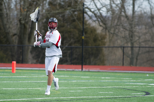 Men's Lacrosse drops 8-3 decision to second-ranked Dickinson
