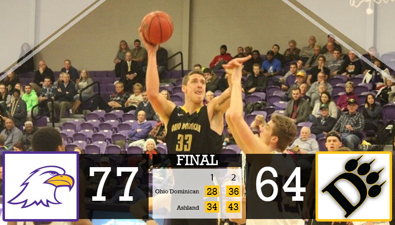 Weaver Scores 21 As Panthers Fall at Ashland 77-64