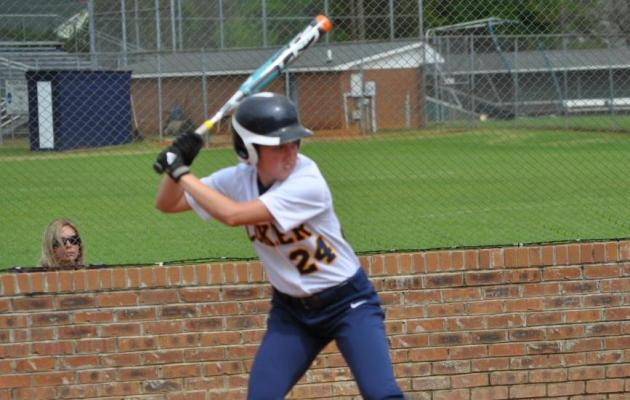 Limestone slides past Coker, 3-2