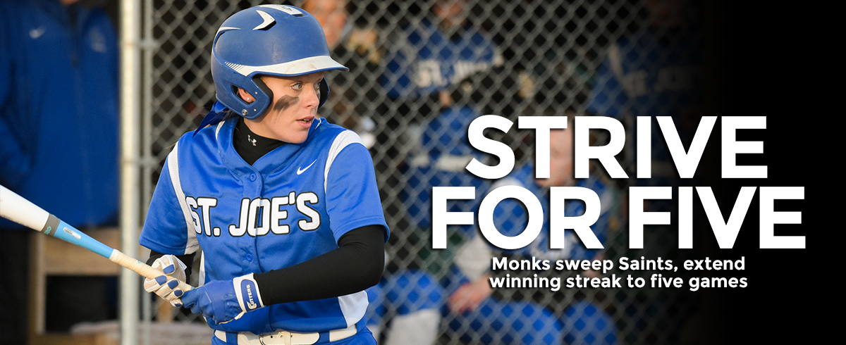 Monks Sweep Saints, 2-1 & 6-1