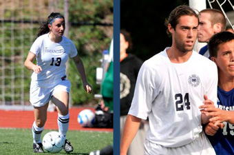 Vallone, Farr named UAA Soccer Offensive Players of the Week