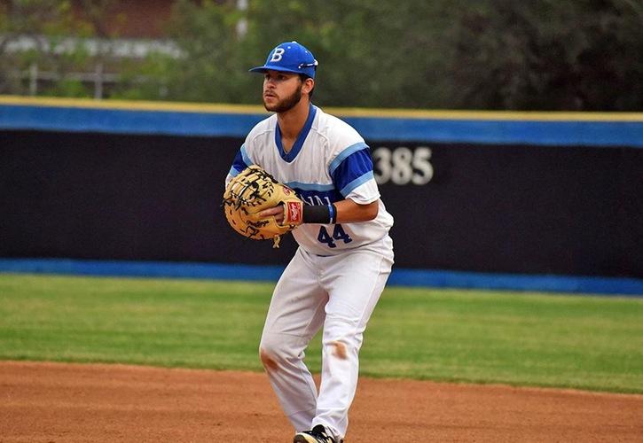 Blinn baseball Downs Spartan Academy, 6-5
