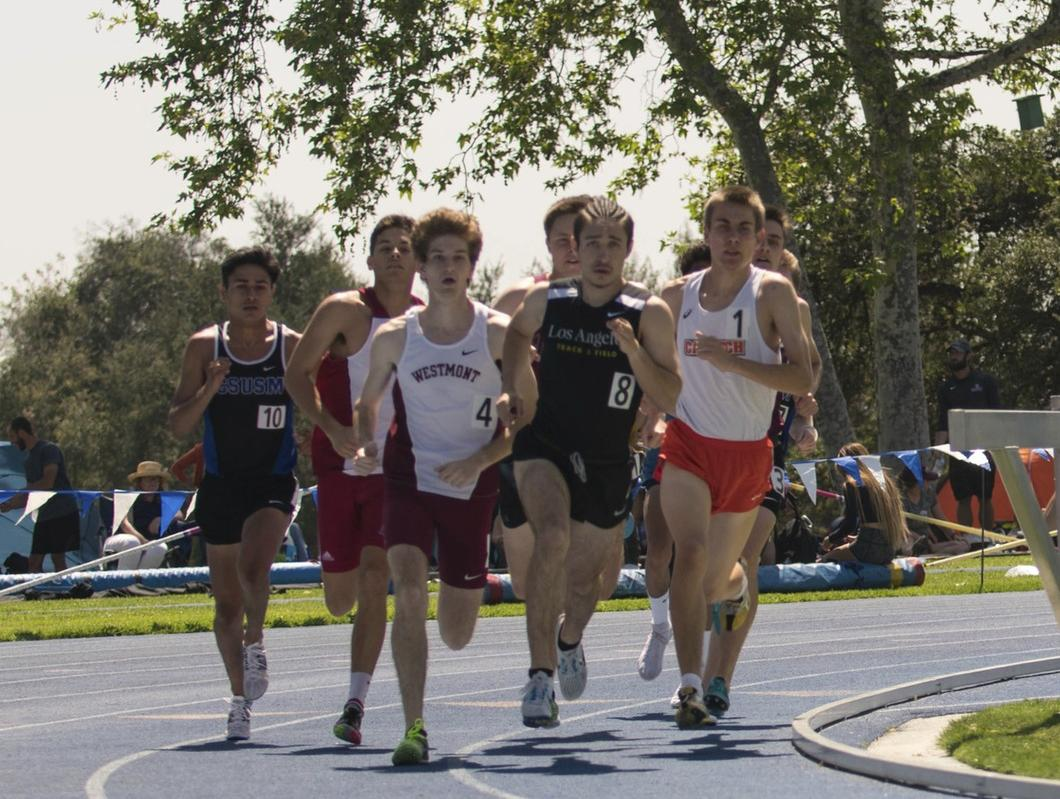 Men's Track & Field Comes on Strong in Claremont