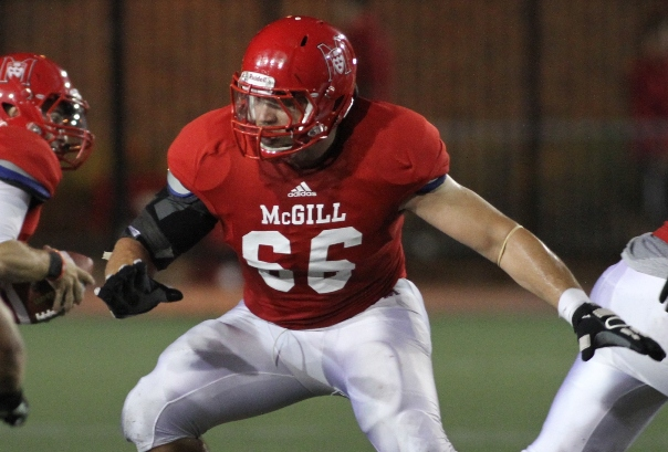 McGill's Duvernay-Tardif, Manitoba's Gill invited to Shrine Game