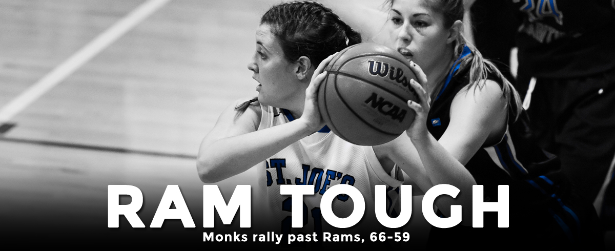 Dominant Second Quarter Propels Monks to 66-59 Win Over Rams