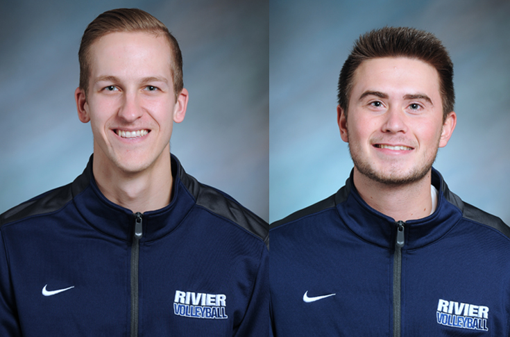 Men's Volleyball: Wolski, Bucklin named GNAC Players of the Week