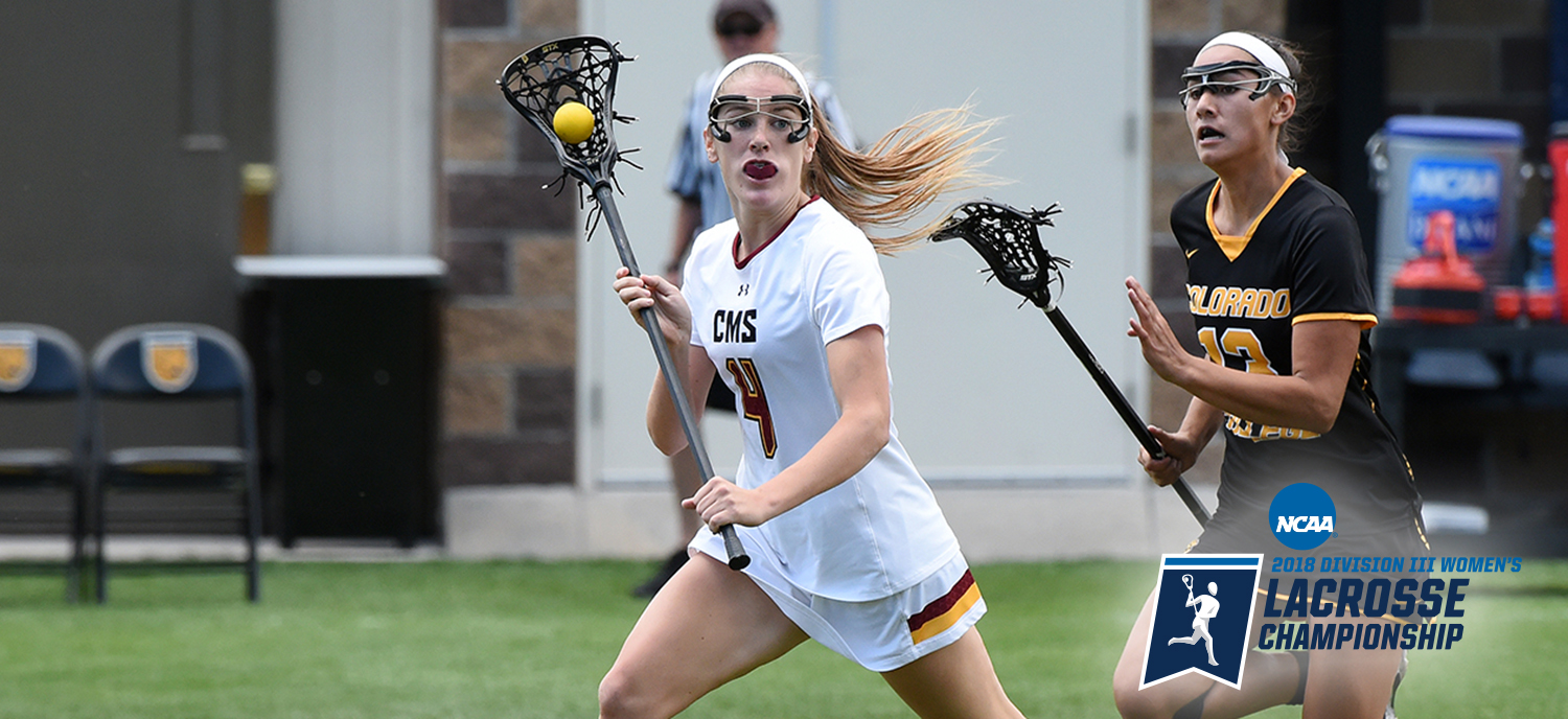 Corie Hack led the CMS offense on Sunday with six goals in a Second Round loss against Colorado College. (photo credit: Colorado College Athletics)