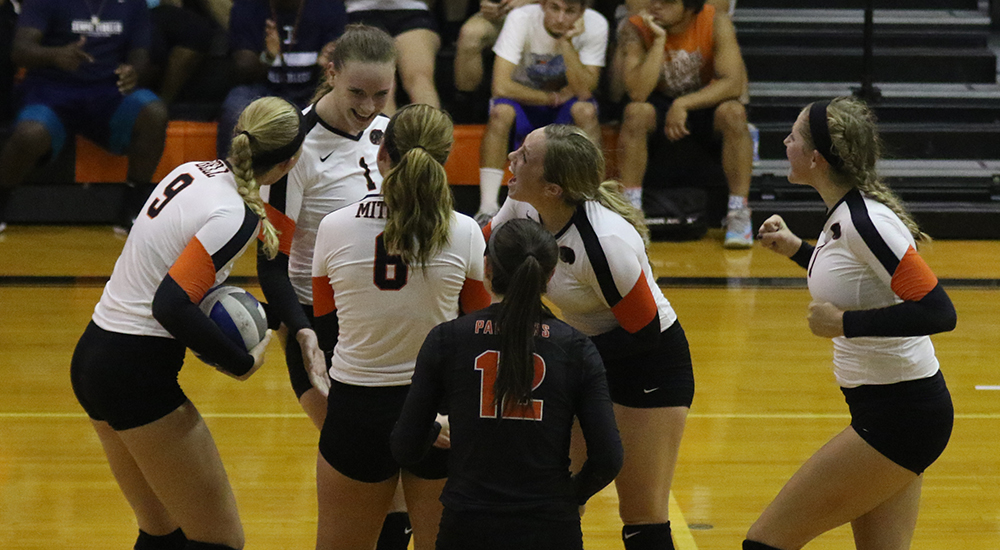 Women's volleyball splits Saturday matches