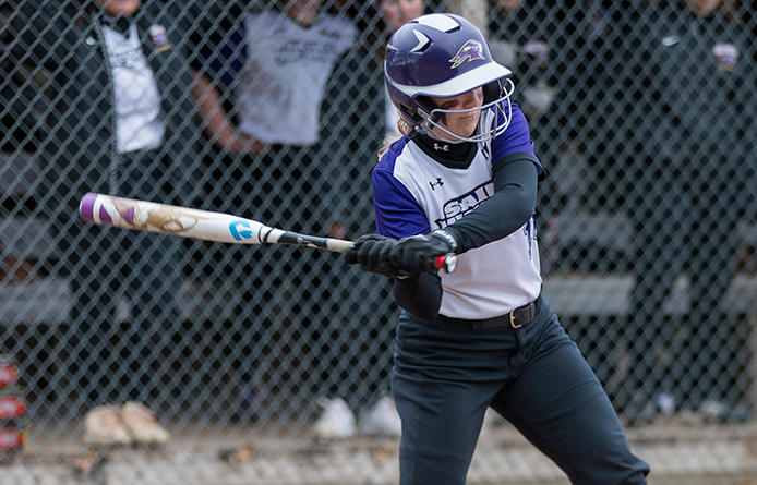 Softball Opens NE10 Play with 6-3 Loss to 2018 National Runner-up Saint Anselm