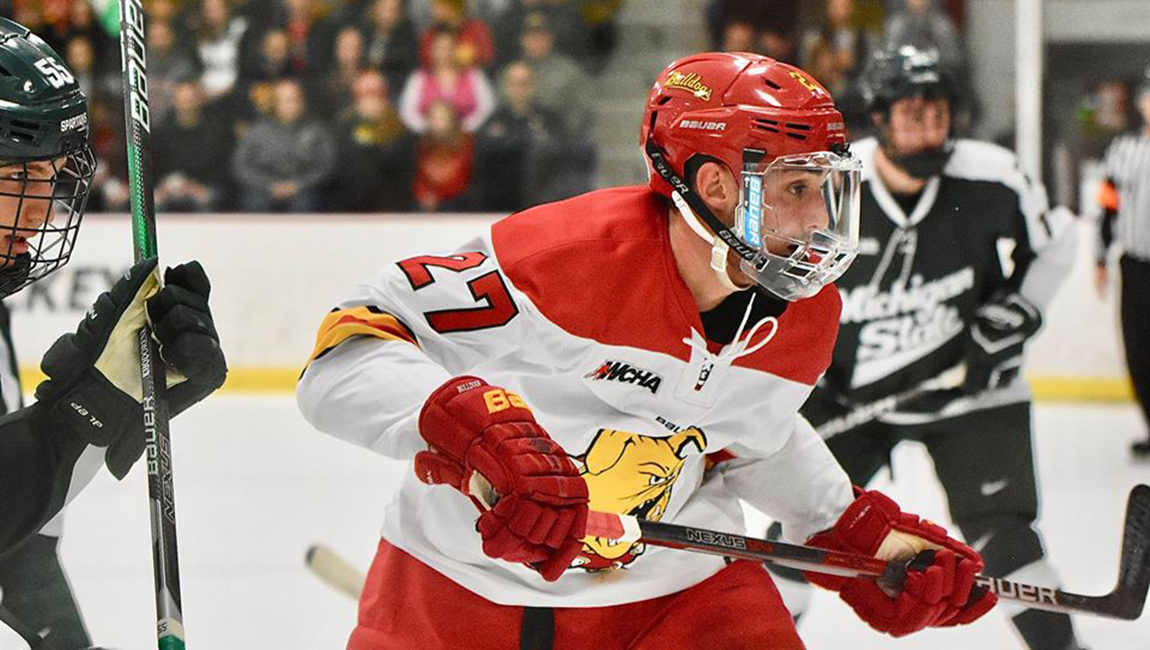 Ferris State Drops Close Showdown Against Michigan State Before Sellout Home Crowd
