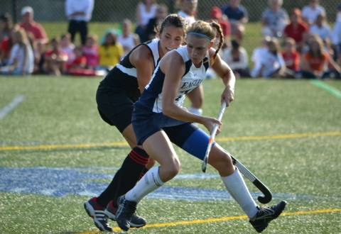 #18 UMW Field Hockey Falls at Washington College, 5-3
