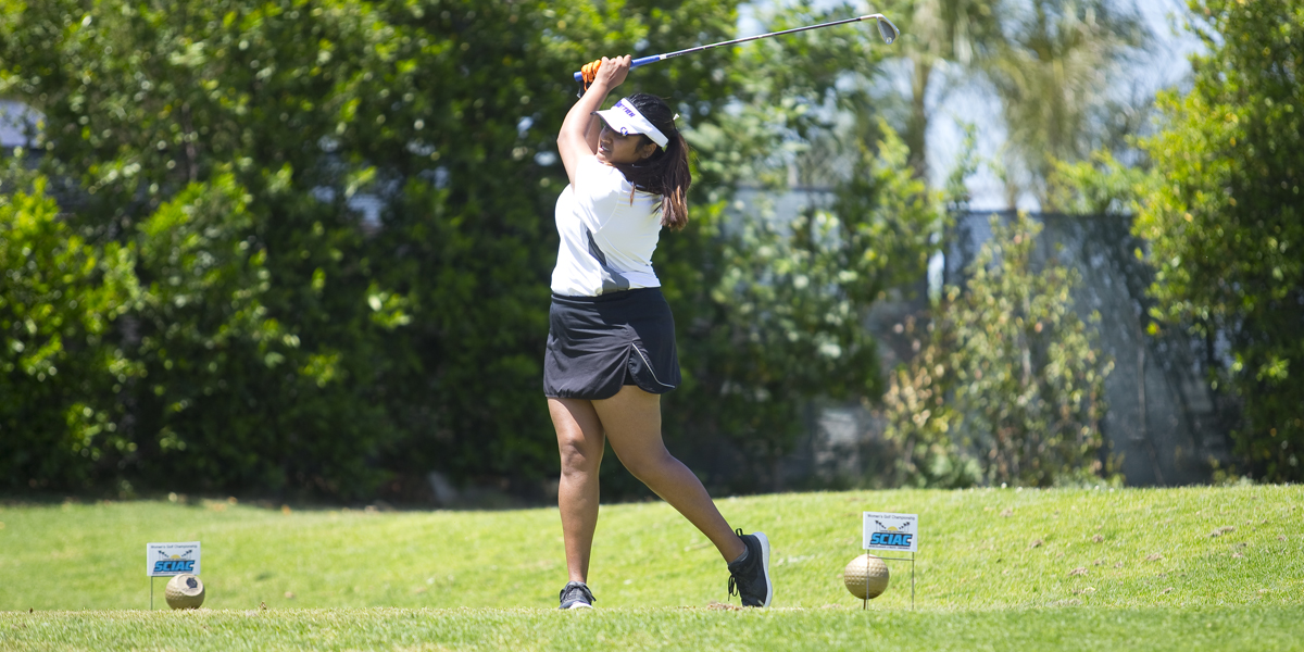 Women's Golf finishes 4th at SCIAC No. 1