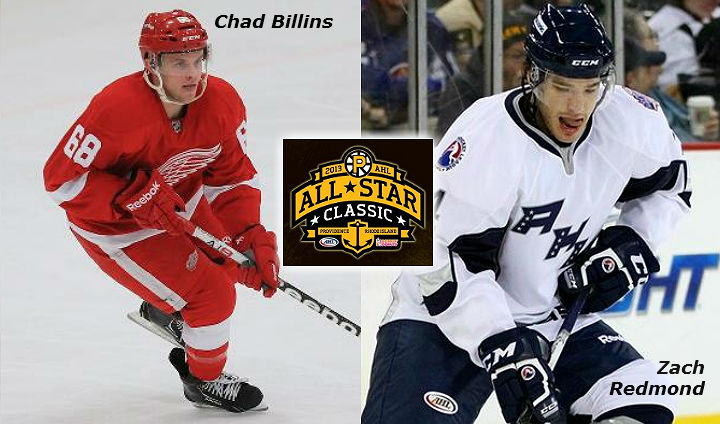 Two Former FSU Captains Chosen As AHL All-Stars; Redmond Makes Opening Day NHL Roster