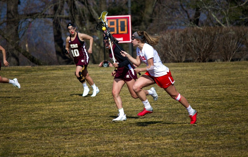 Clapsaddle Leads Women's Lacrosse with Six Goals to Win over UDC Firebirds