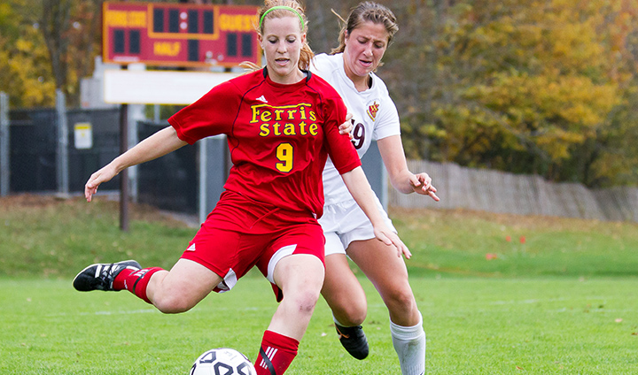 Ferris State's Amanda Foster Named To Academic All-District Soccer Team