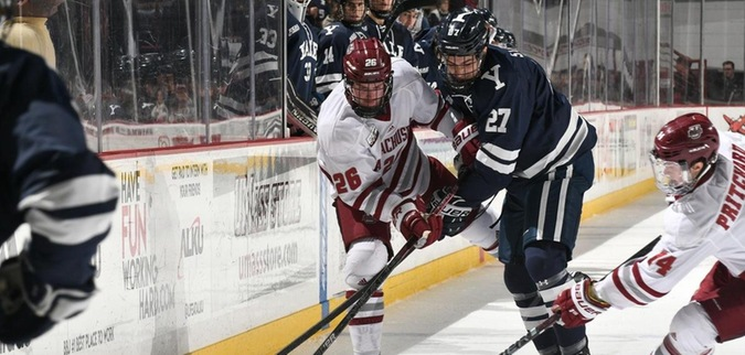 Yale's Unbeaten Streak Comes to an End with Loss at UMass