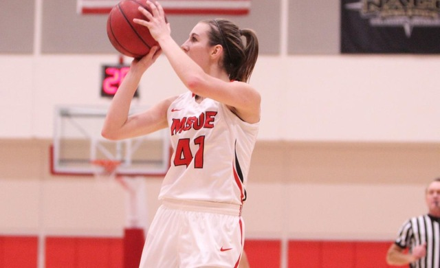 Women's Basketball Takes Down Second-Place Benedictine 79-72
