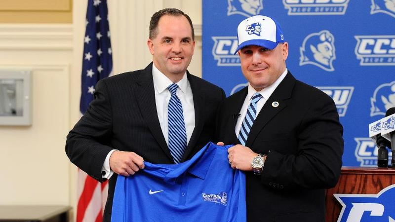Rossomando Named Head Football Coach at CCSU