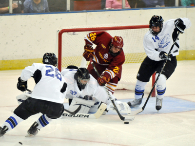MIke Embach and the Bulldogs fall to Alabama-Huntsville 4-2 in weekend series finale.  (Photo by Chuck Edgeworth)