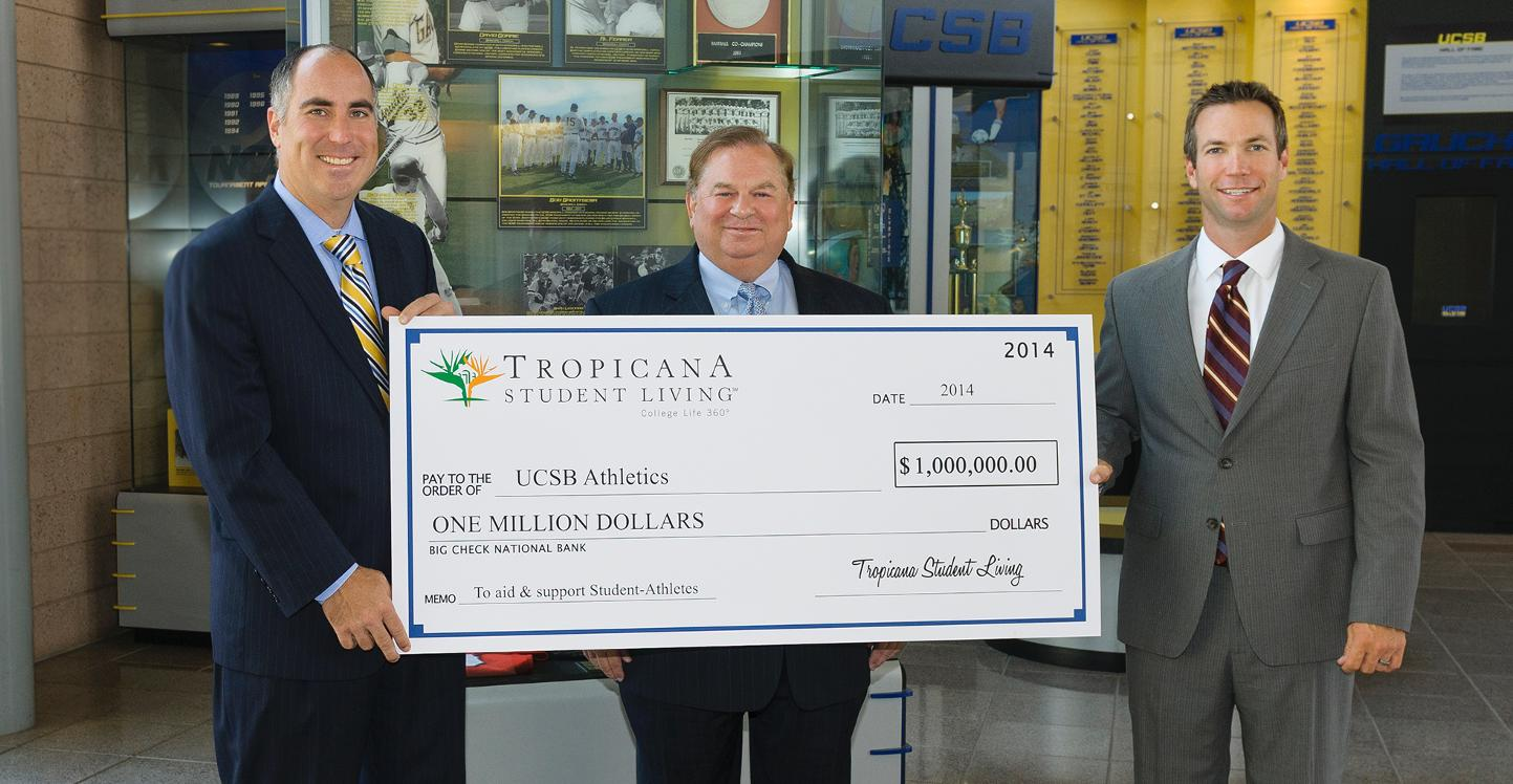 UCSB Athletics Receives $1 Million Commitment from Tropicana Student Living