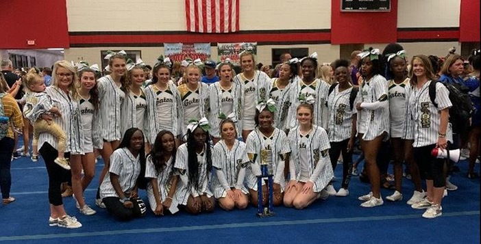 Ware County Competition Cheerleading Team Places First in Competition