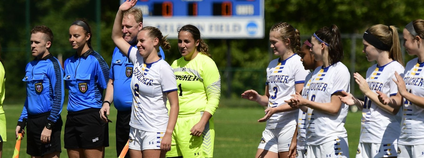 A Day To Remember For Belmont And The Goucher Women's Soccer Team With 2-0 Win Against Juniata