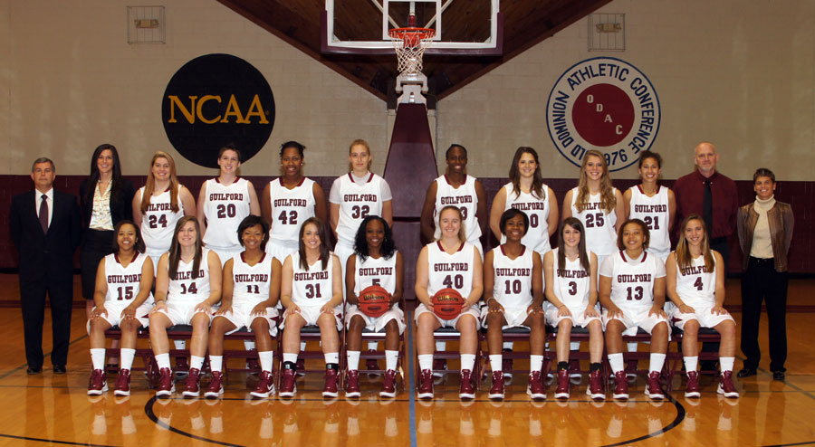 2011-12 Guilford Women's Basketball Roster - Guilford
