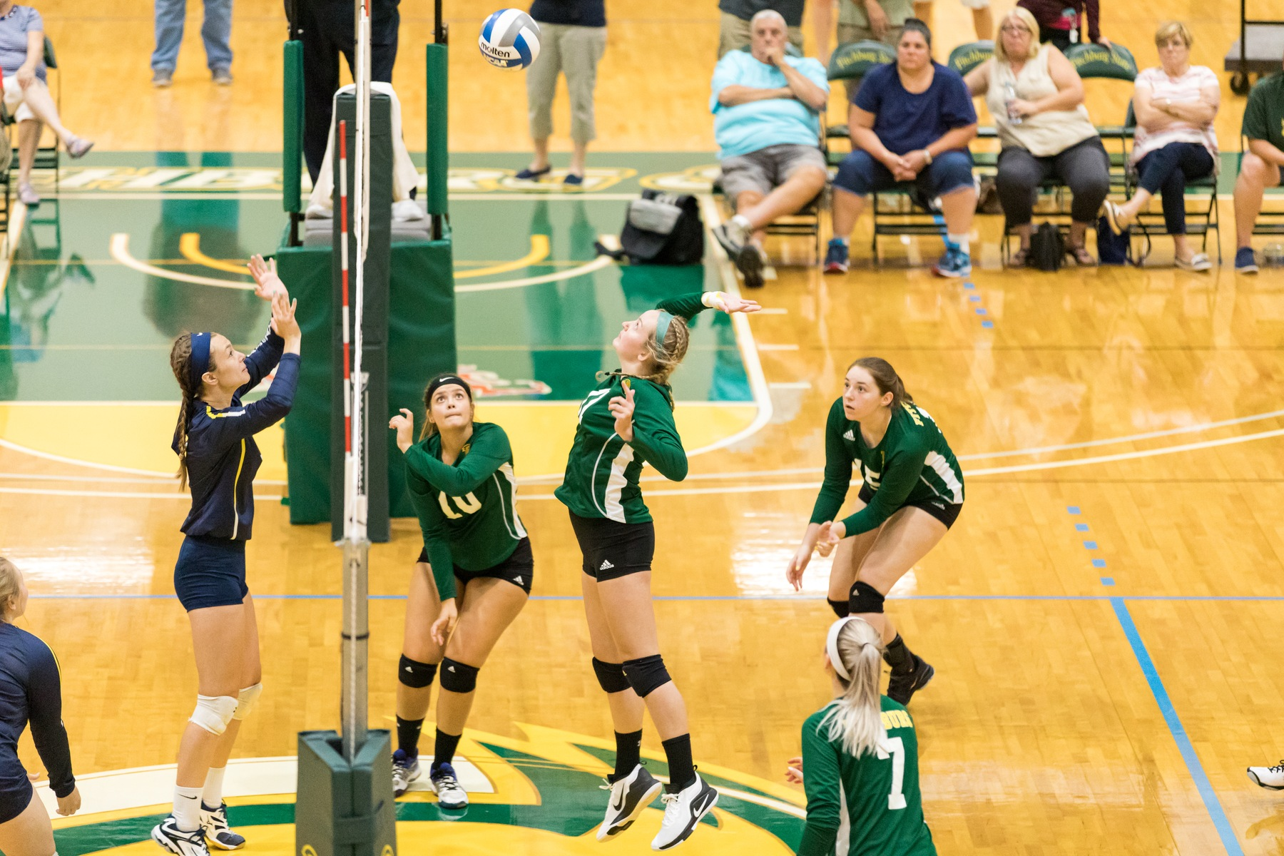 Falcons Battle Rams And Colonels In Tri-Match