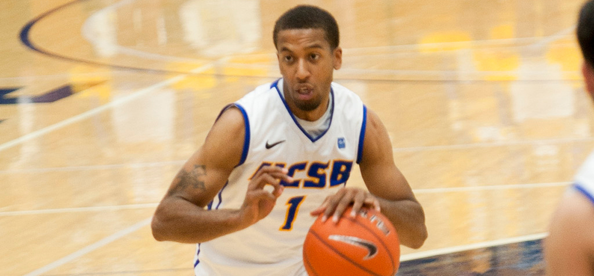 Big First Half Run Helps Gauchos Rout Santa Clara, 89-56