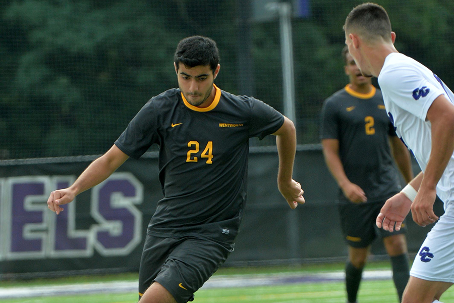 Strong Second Half Lifts Men's Soccer Past Eastern Nazarane