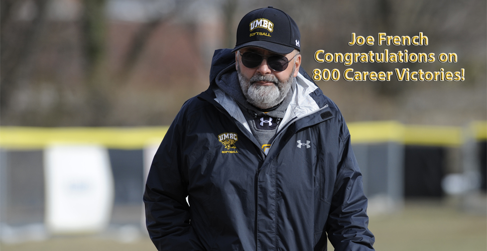 French Earns 800th Career Victory; UMBC Defeats Hampton, 6-1