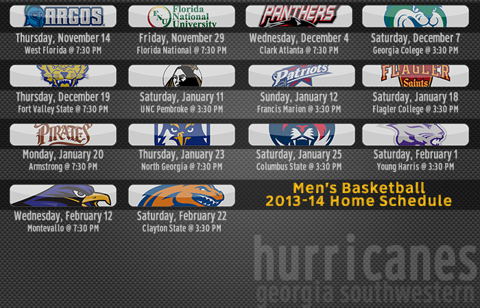 Men's Basketball Releases 2013-14 Schedule