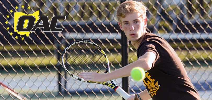 OAC Men's Tennis Player of the Week Dominic Polifrone