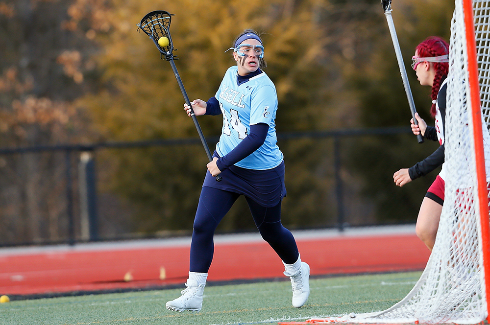 WLX: Lasell doubles up Albertus Magnus in GNAC victory