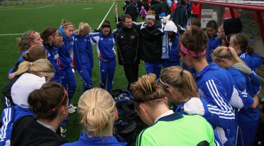CUW women booters open on the road