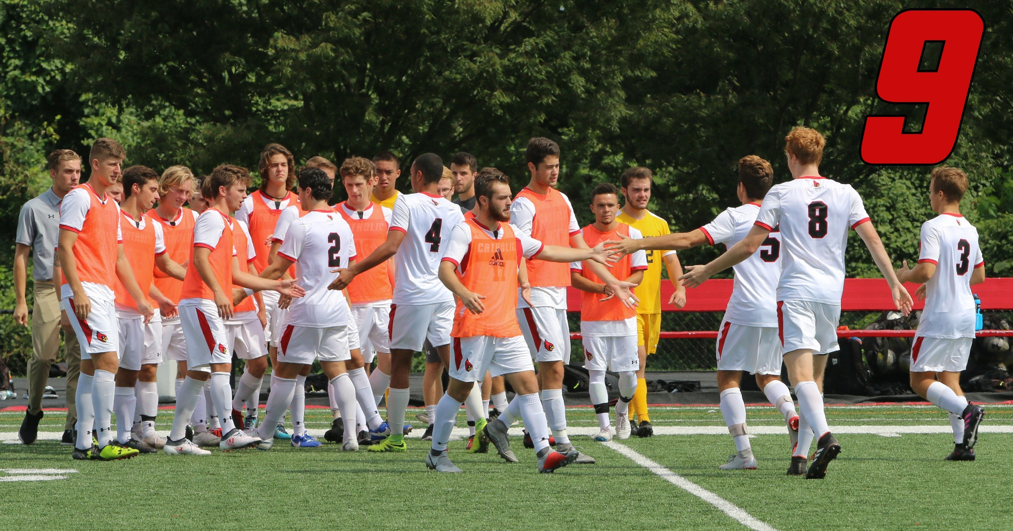 Men's Soccer Moves Up to No. 9 in Mid-Atlantic Region