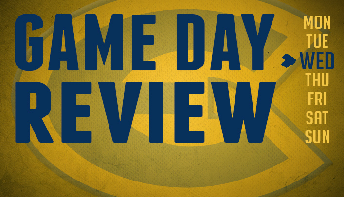 Game Day Review - Wednesday, September 4, 2013