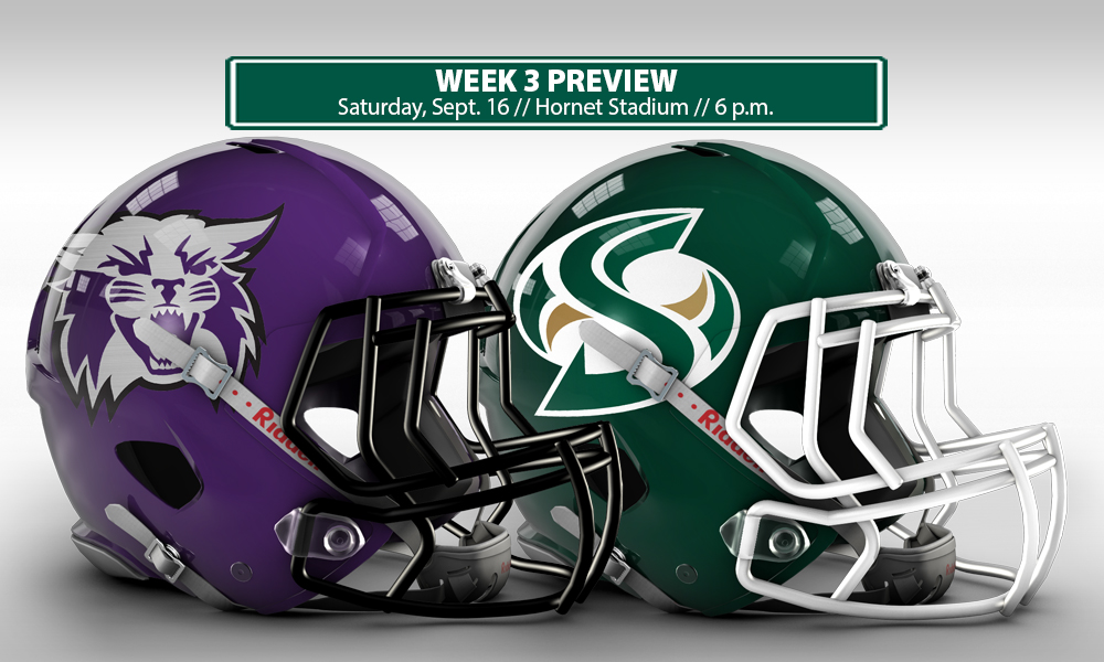 FOOTBALL CONTINUES HOMESTAND AGAINST WEBER STATE ON SATURDAY NIGHT