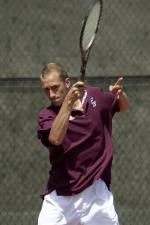 Men's Tennis Falls to USF at WCC Tourney