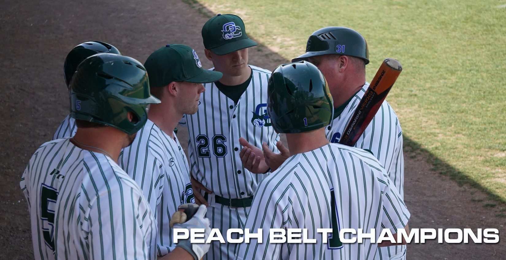 Peach Belt Conference Champions