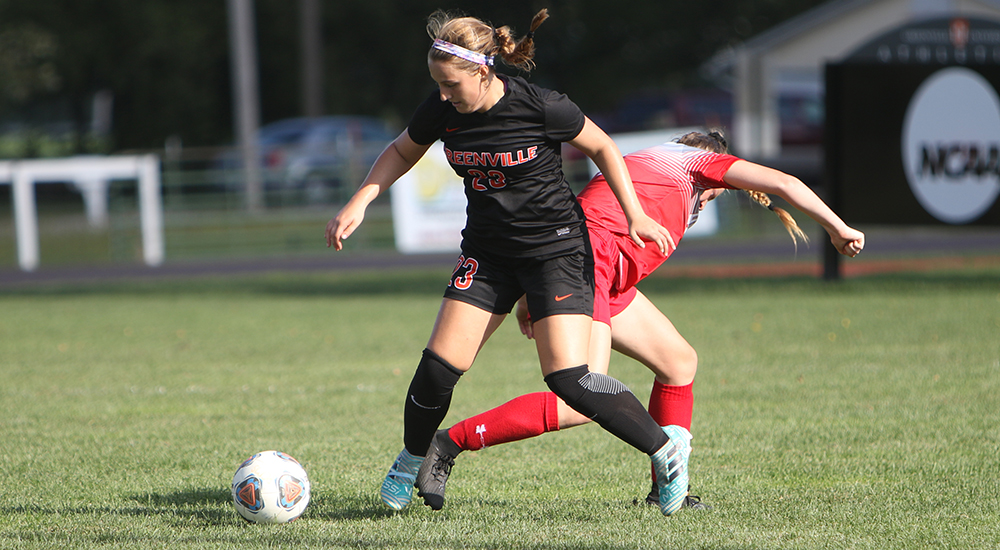Women's soccer suffers 3-0 setback by Olivet