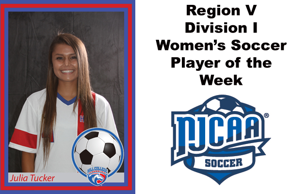 Region V Division I Women's Soccer Player of the Week (Oct. 23-29)