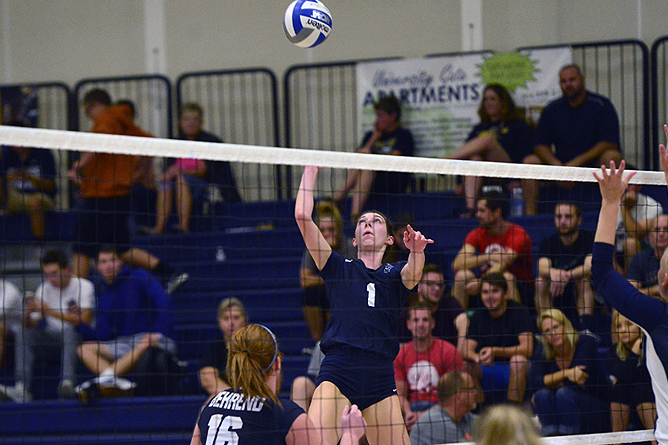 Women's Volleyball Splits at Altoona